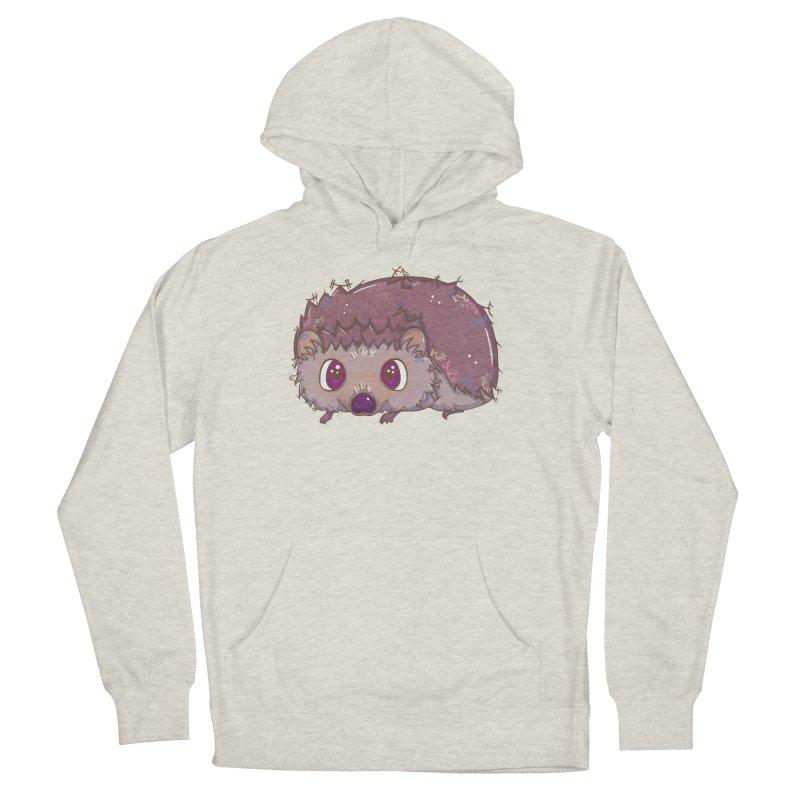 Happiest Little Hedgehog Men's Pullover Hoody by VanillaKirsty's Artist Shop