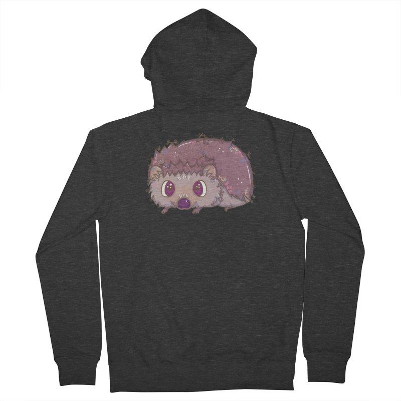 Happiest Little Hedgehog Women's Zip-Up Hoody by VanillaKirsty's Artist Shop