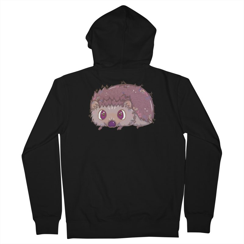 Happiest Little Hedgehog Men's Zip-Up Hoody by VanillaKirsty's Artist Shop