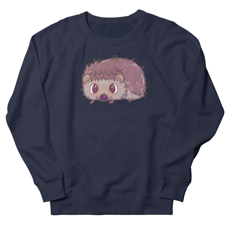 Happiest Little Hedgehog Men's Sweatshirt by VanillaKirsty's Artist Shop
