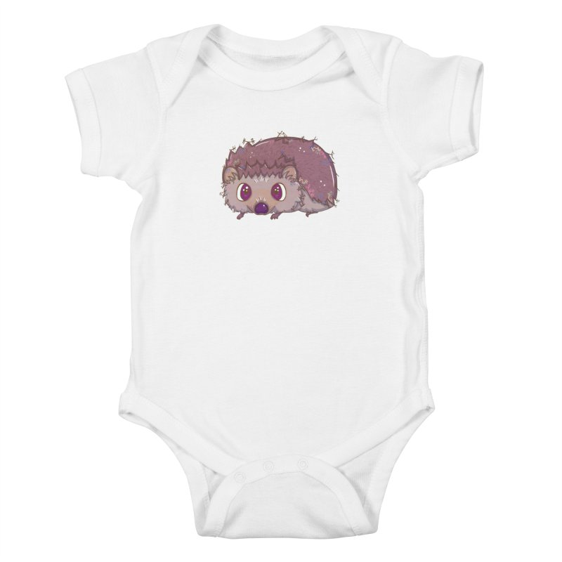 Happiest Little Hedgehog Kids Baby Bodysuit by VanillaKirsty's Artist Shop