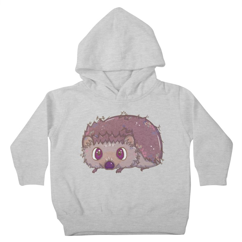 Happiest Little Hedgehog Kids Toddler Pullover Hoody by VanillaKirsty's Artist Shop