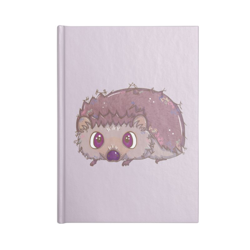 Happiest Little Hedgehog Accessories Notebook by VanillaKirsty's Artist Shop