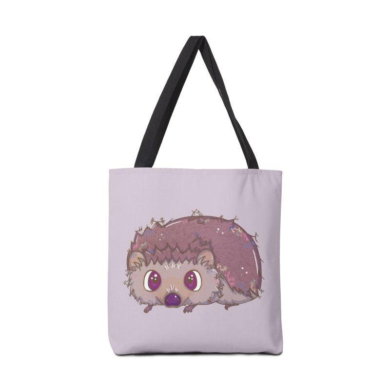 Happiest Little Hedgehog Accessories Bag by VanillaKirsty's Artist Shop
