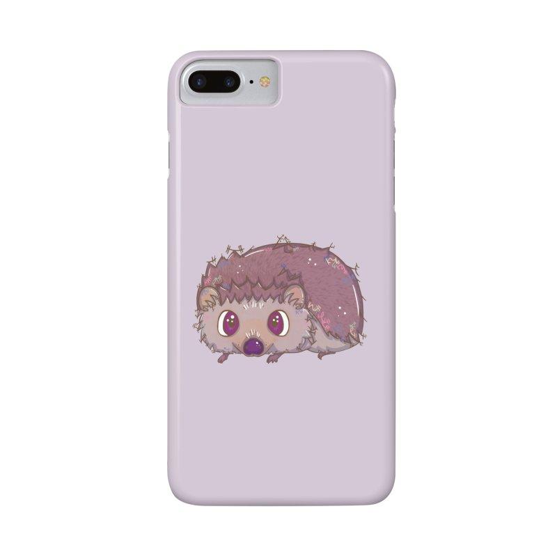 Happiest Little Hedgehog Accessories Phone Case by VanillaKirsty's Artist Shop