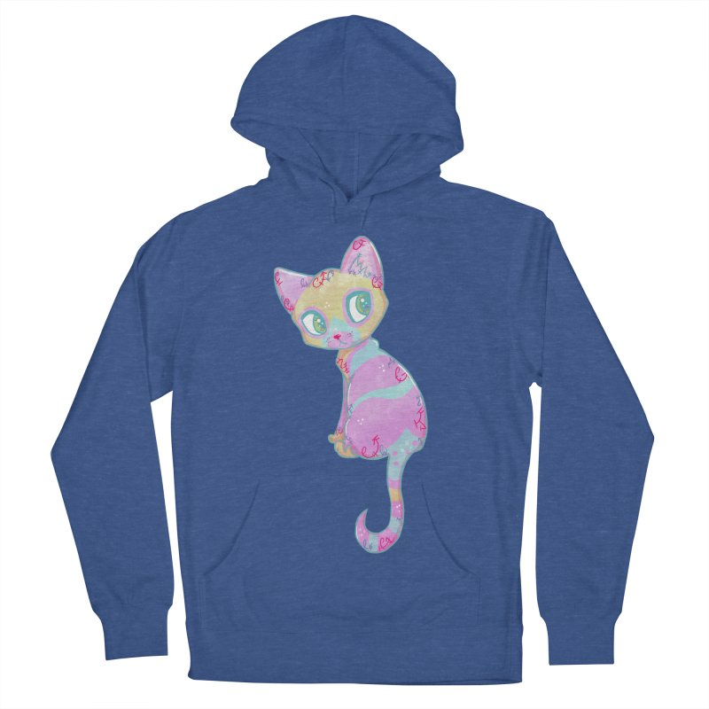 Mystical Little Kitty Women's Pullover Hoody by VanillaKirsty's Artist Shop