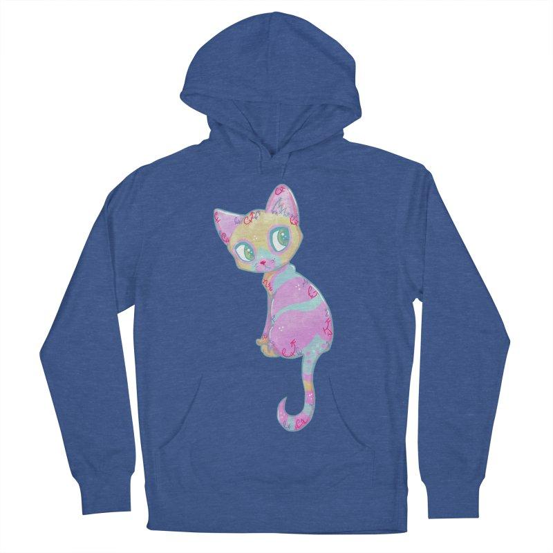 Mystical Little Kitty Men's Pullover Hoody by VanillaKirsty's Artist Shop