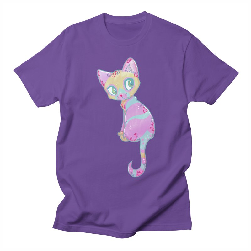 Mystical Little Kitty Women's Unisex T-Shirt by VanillaKirsty's Artist Shop