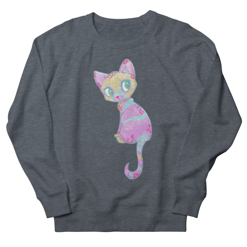 Mystical Little Kitty Women's Sweatshirt by VanillaKirsty's Artist Shop