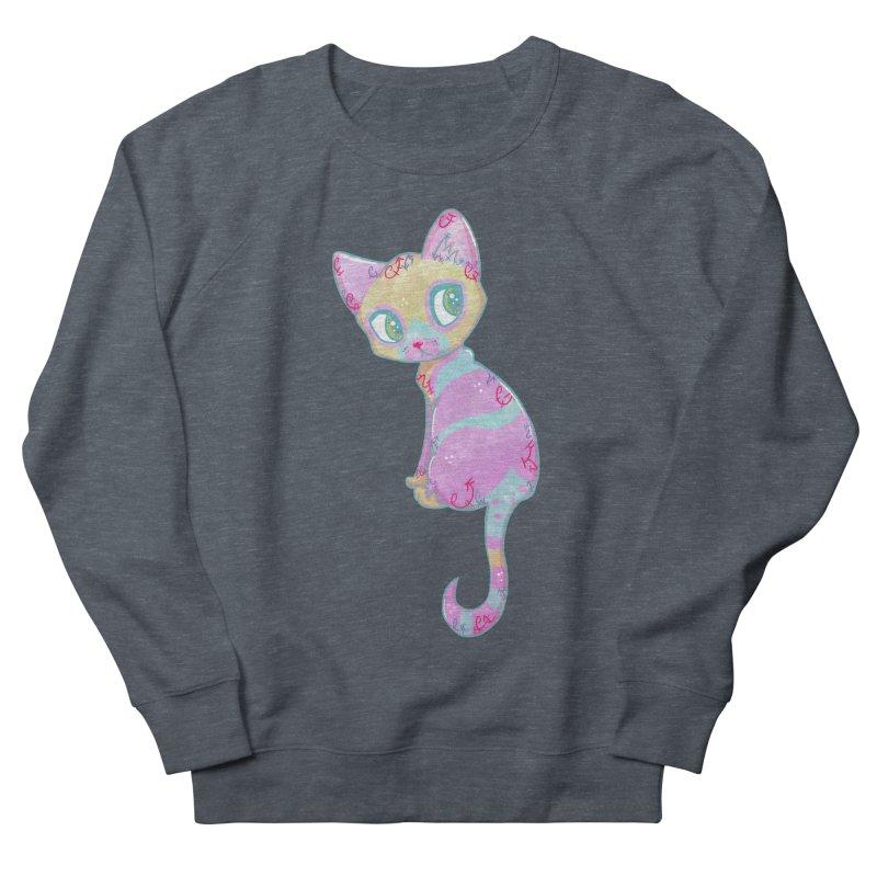Mystical Little Kitty Men's Sweatshirt by VanillaKirsty's Artist Shop