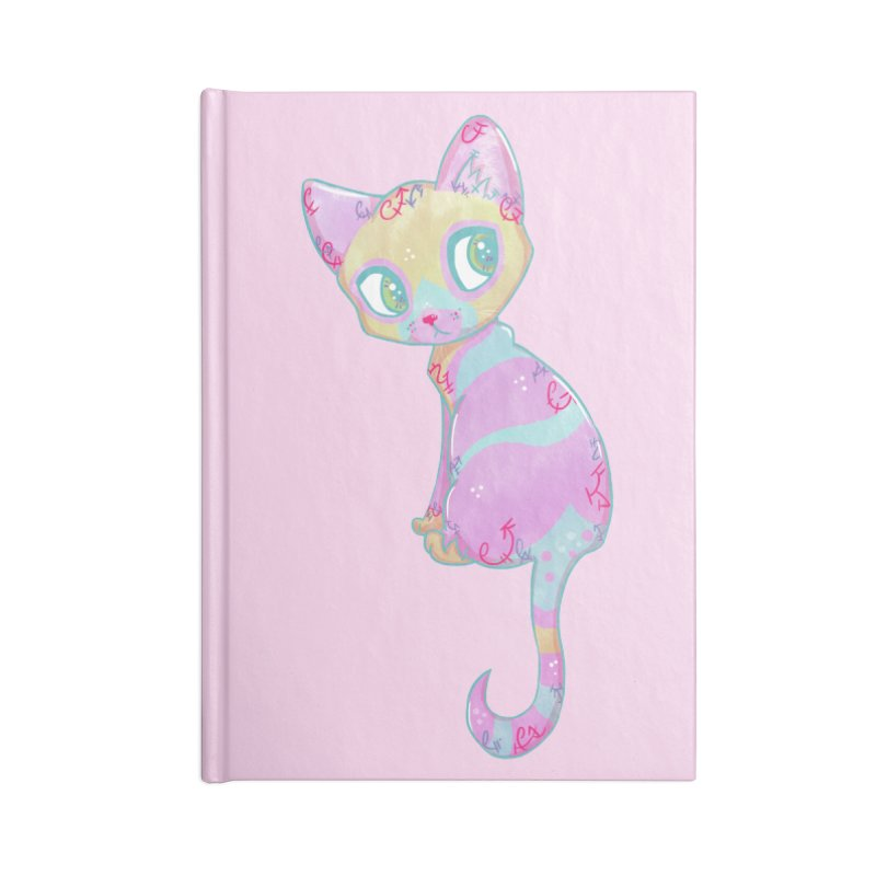 Mystical Little Kitty Accessories Notebook by VanillaKirsty's Artist Shop