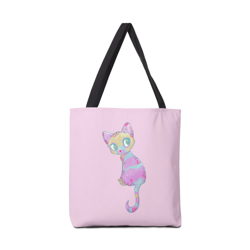 Mystical Little Kitty Accessories Bag by VanillaKirsty's Artist Shop