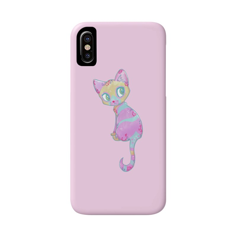 Mystical Little Kitty Accessories Phone Case by VanillaKirsty's Artist Shop