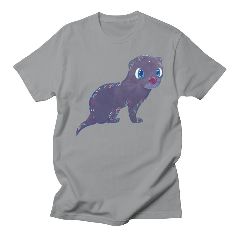 Mini Mink  Women's Unisex T-Shirt by VanillaKirsty's Artist Shop