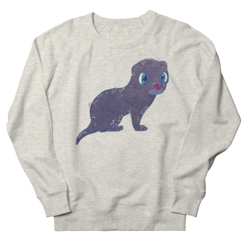 Mini Mink  Women's Sweatshirt by VanillaKirsty's Artist Shop