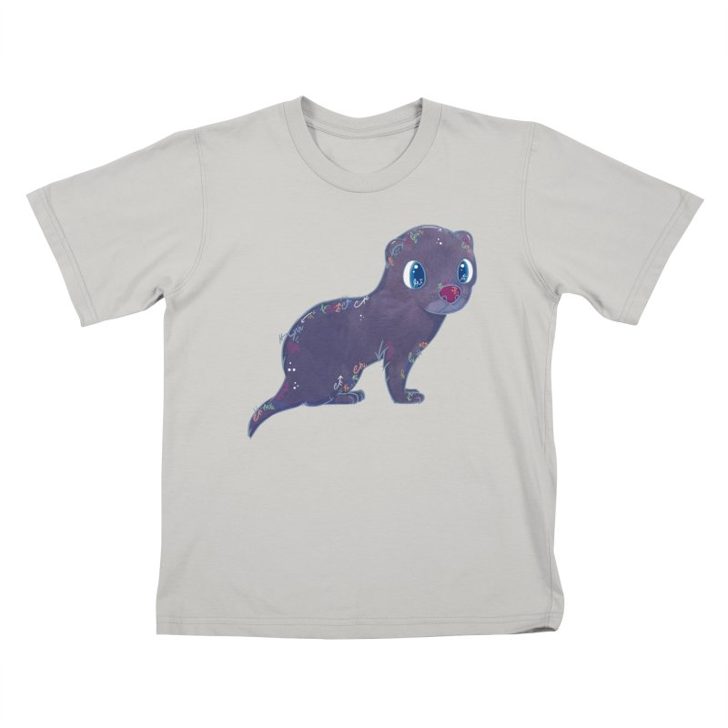 Mini Mink  Kids T-shirt by VanillaKirsty's Artist Shop