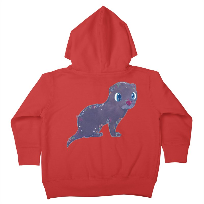 Mini Mink  Kids Toddler Zip-Up Hoody by VanillaKirsty's Artist Shop