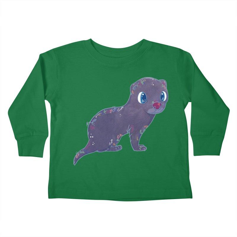 Mini Mink  Kids Toddler Longsleeve T-Shirt by VanillaKirsty's Artist Shop