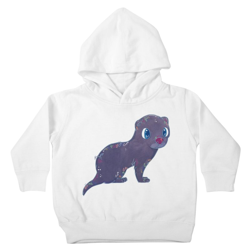 Mini Mink  Kids Toddler Pullover Hoody by VanillaKirsty's Artist Shop