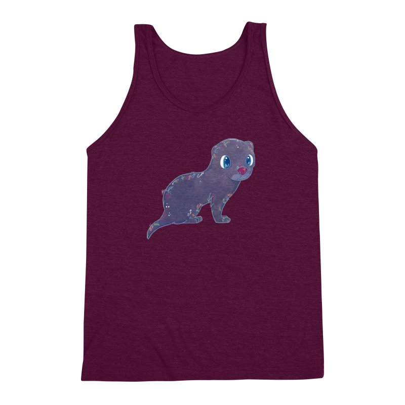 Mini Mink  Men's Triblend Tank by VanillaKirsty's Artist Shop