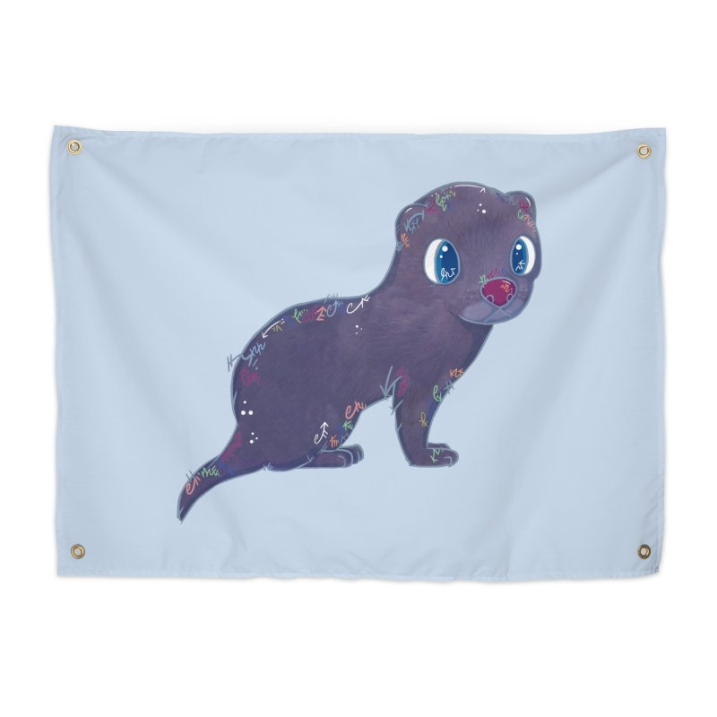 Mini Mink  Home Tapestry by VanillaKirsty's Artist Shop