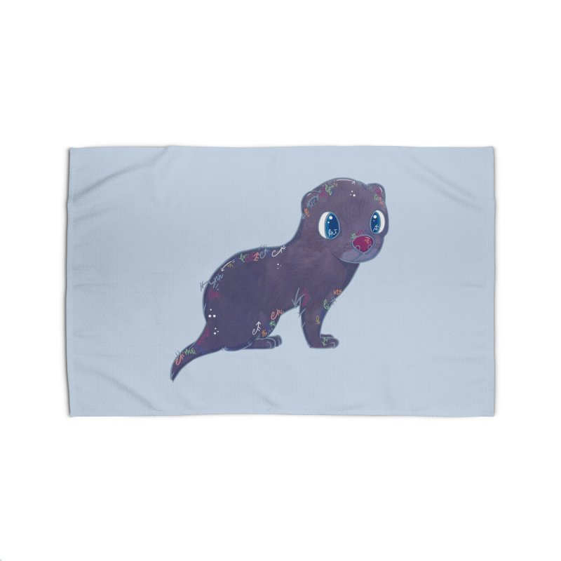Mini Mink  Home Rug by VanillaKirsty's Artist Shop