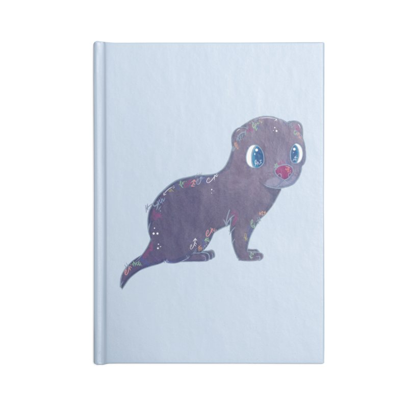 Mini Mink  Accessories Notebook by VanillaKirsty's Artist Shop