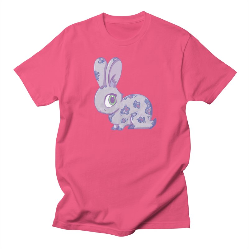Brave Little Bunny Men's T-shirt by VanillaKirsty's Artist Shop