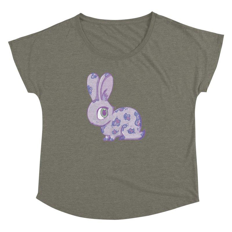 Brave Little Bunny Women's Dolman by VanillaKirsty's Artist Shop