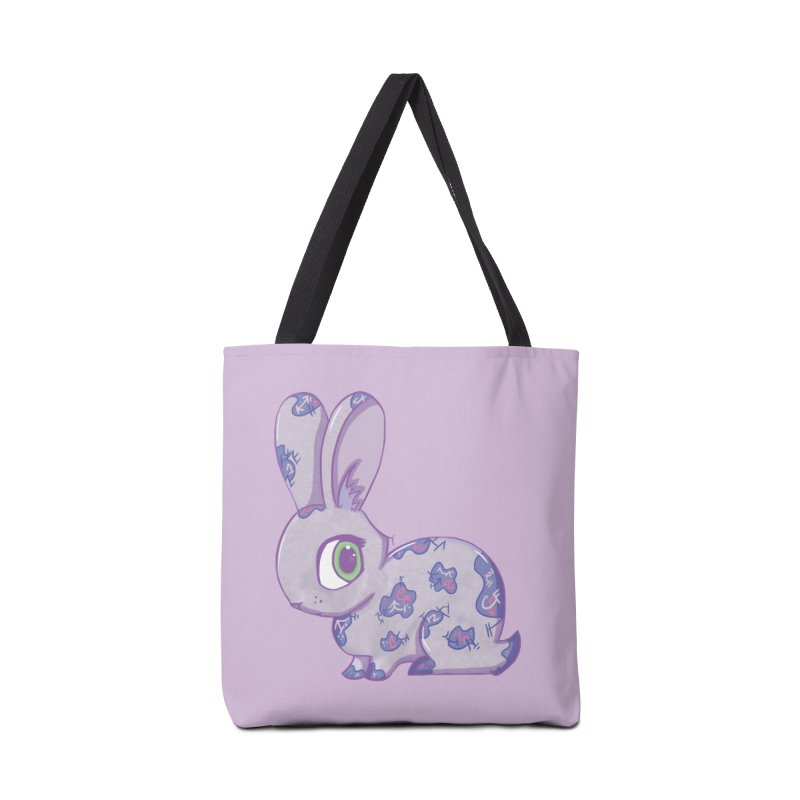 Brave Little Bunny Accessories Bag by VanillaKirsty's Artist Shop