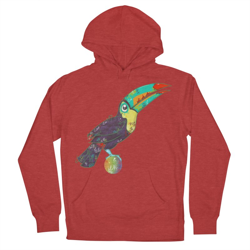 Toucan Can Do It!  Men's Pullover Hoody by VanillaKirsty's Artist Shop