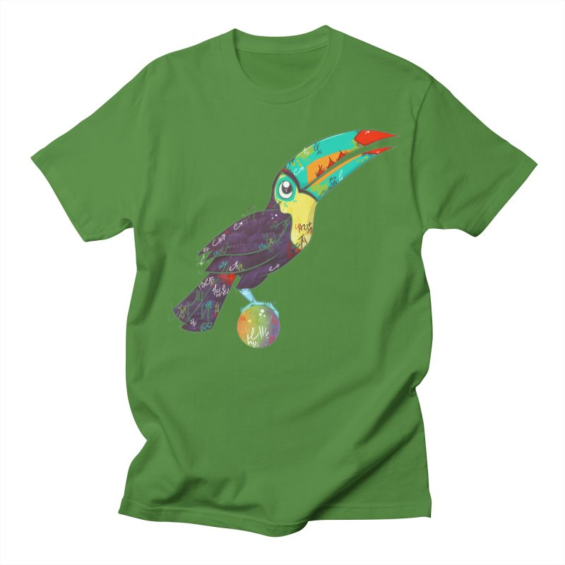 Toucan Can Do It!  Men's T-shirt by VanillaKirsty's Artist Shop