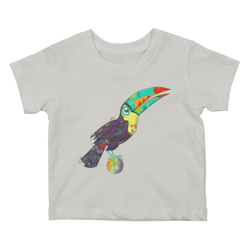 Toucan Can Do It!  Kids Baby T-Shirt by VanillaKirsty's Artist Shop
