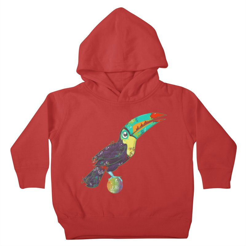 Toucan Can Do It!  Kids Toddler Pullover Hoody by VanillaKirsty's Artist Shop