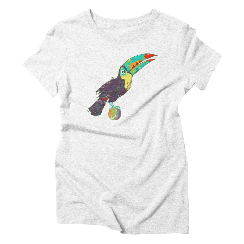 Toucan Can Do It!  Women's Triblend T-shirt by VanillaKirsty's Artist Shop