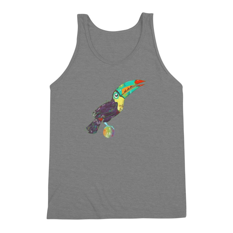 Toucan Can Do It!  Men's Triblend Tank by VanillaKirsty's Artist Shop