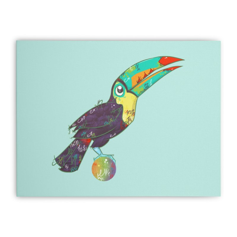 Toucan Can Do It!  Home Stretched Canvas by VanillaKirsty's Artist Shop