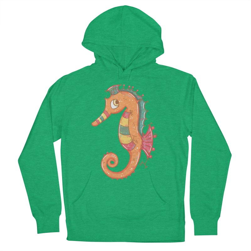 Sparkly Little Seahorse Women's Pullover Hoody by VanillaKirsty's Artist Shop