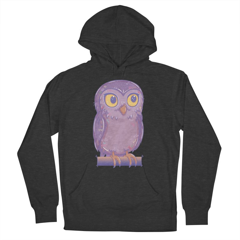 Enchanting Little Owl Women's Pullover Hoody by VanillaKirsty's Artist Shop