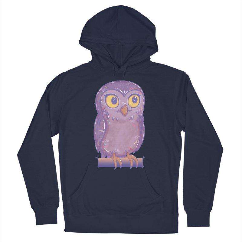 Enchanting Little Owl Men's Pullover Hoody by VanillaKirsty's Artist Shop
