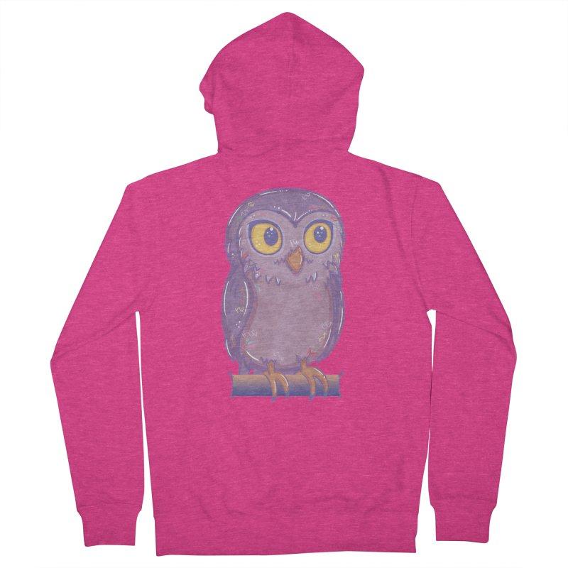 Enchanting Little Owl Women's Zip-Up Hoody by VanillaKirsty's Artist Shop