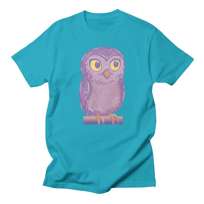 Enchanting Little Owl Women's Unisex T-Shirt by VanillaKirsty's Artist Shop