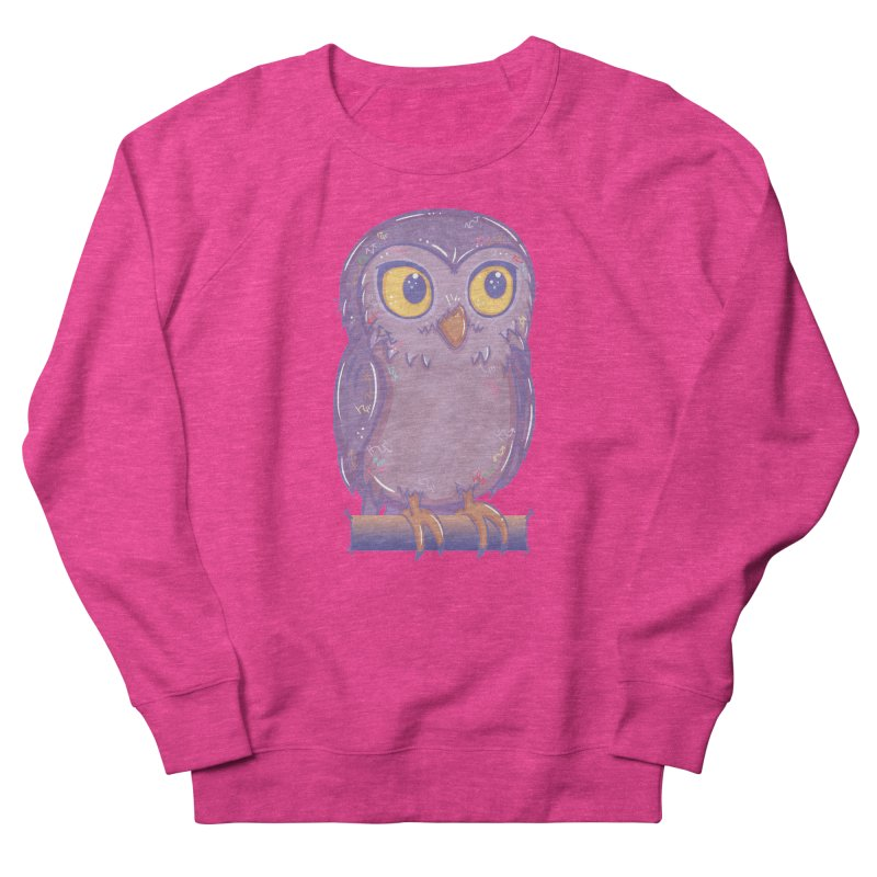 Enchanting Little Owl Men's Sweatshirt by VanillaKirsty's Artist Shop