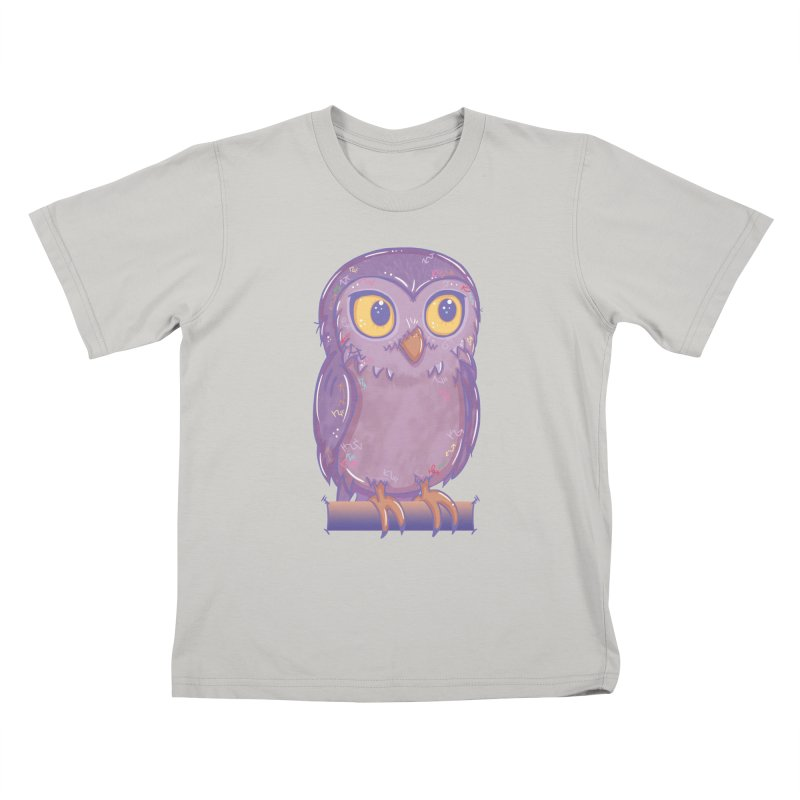 Enchanting Little Owl Kids T-shirt by VanillaKirsty's Artist Shop
