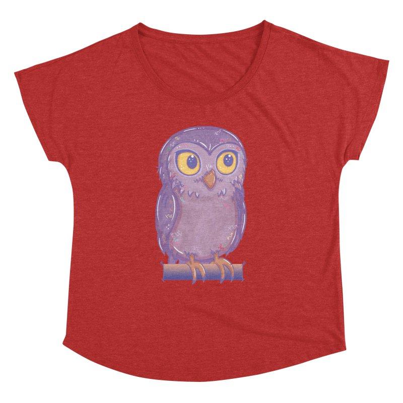 Enchanting Little Owl Women's Dolman by VanillaKirsty's Artist Shop
