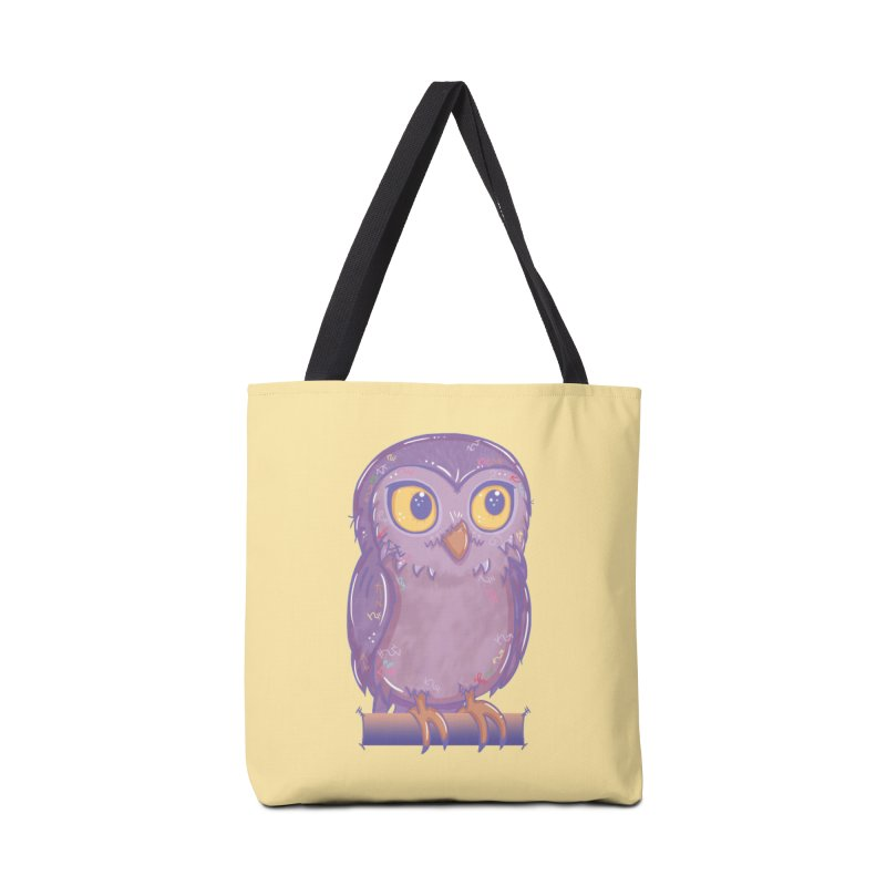Enchanting Little Owl Accessories Bag by VanillaKirsty's Artist Shop