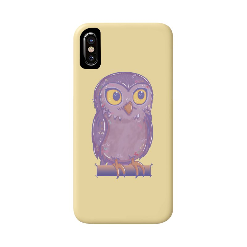 Enchanting Little Owl Accessories Phone Case by VanillaKirsty's Artist Shop