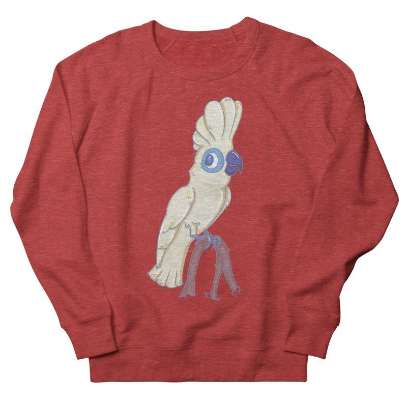 Clever Little Cockatoo  Men's Sweatshirt by VanillaKirsty's Artist Shop