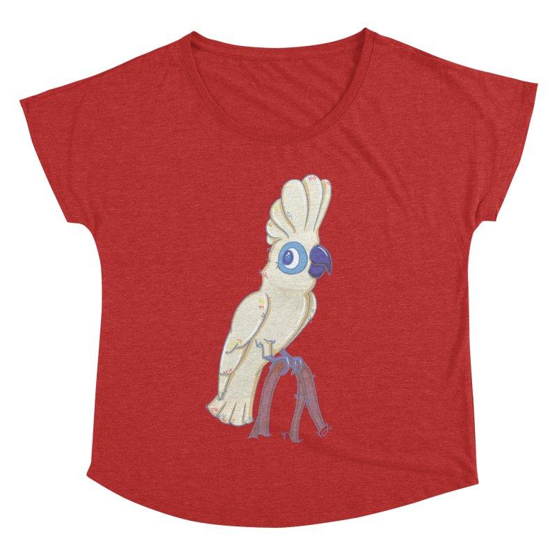 Clever Little Cockatoo  Women's Dolman by VanillaKirsty's Artist Shop