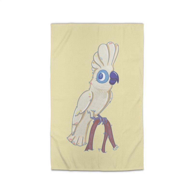 Clever Little Cockatoo  Home Rug by VanillaKirsty's Artist Shop